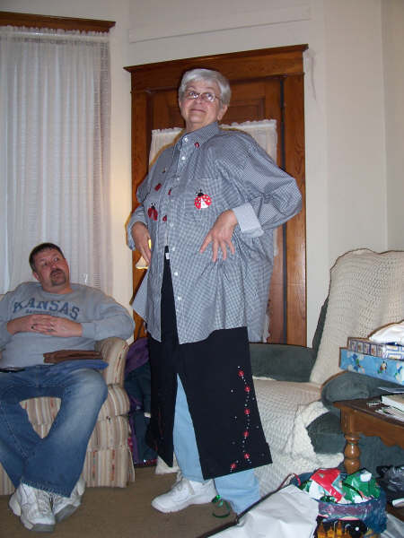 Grandma's New Outfit