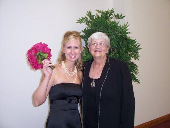 Wedding Day- Tara and Grandma B